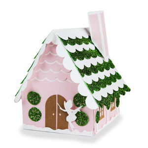 santa's glitter village - sugar plum fairy house