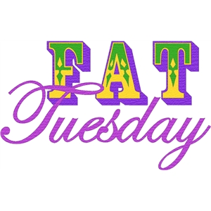 fat tuesday phrase