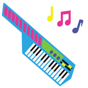 80's pop - keyboard