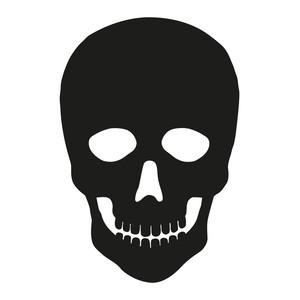 Silhouette Design Store - View Design #224904: halloween skull