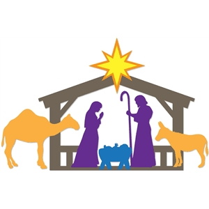 8-pc nativity set