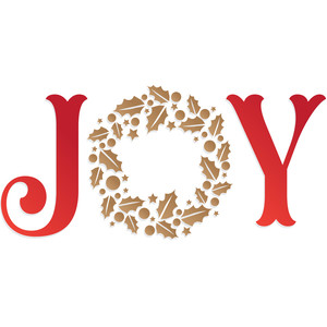 christmas holiday joy wording