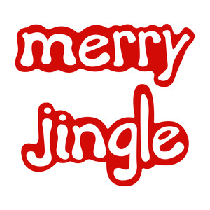holiday words: merry & jingle