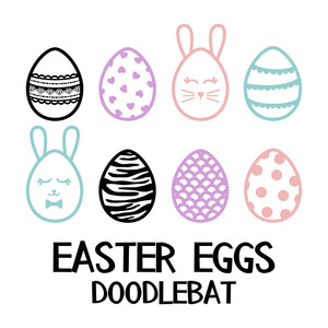 easter eggs doodlebat