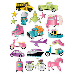 transportation planner stickers
