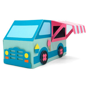 ice cream truck box
