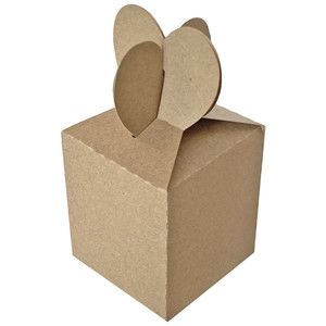 double heart box