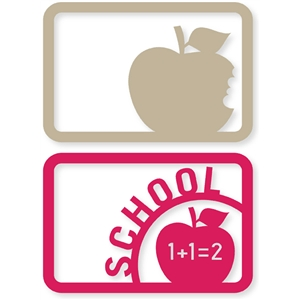 school apple cards