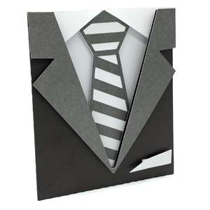 suit and tie card