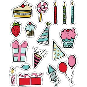 ml birthday birthday stickers