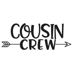 cousin crew arrow quote