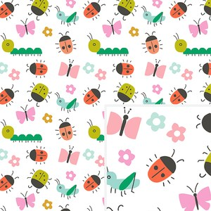 creepy crawlies pattern