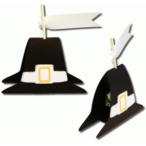 3d pilgrim hat sucker holder