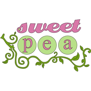 sweet pea words