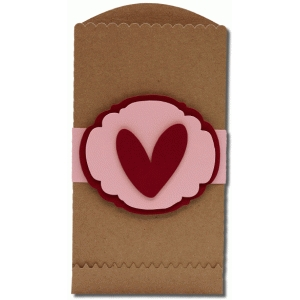valentine envelope bag