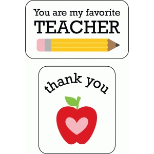 thank you favorite teacher tags