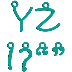charms y - z (uppercase)