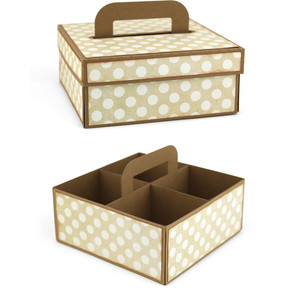 4 compartment cookie box