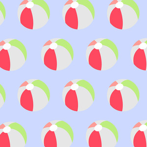 beach ball pattern