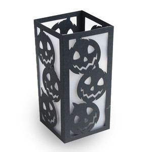 pumpkin halloween candle holder