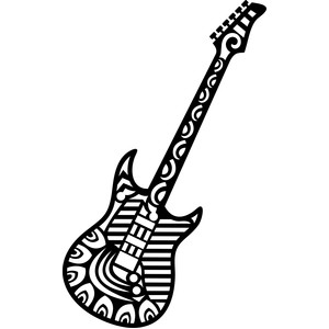 tribal guitar