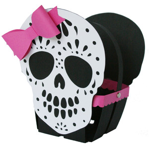 sugar skull basket