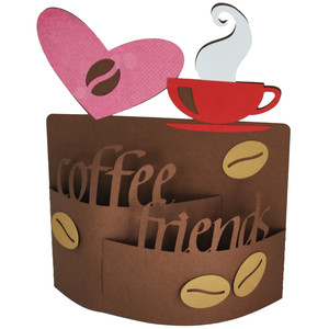 coffee friend bendi card