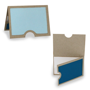 flexi horizontal album - double folded over card page