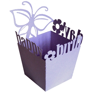 butterfly birthday candy box