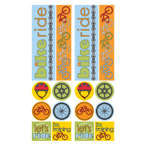 biking stickers
