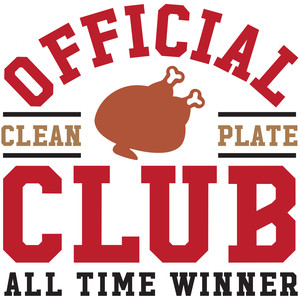 official clean plate club winner