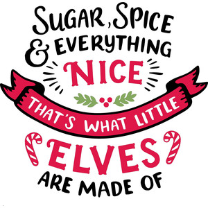 what little elves are made of