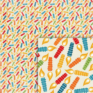 birthday candles background paper