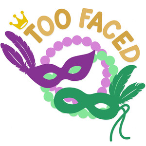 too faced mardi gras masks
