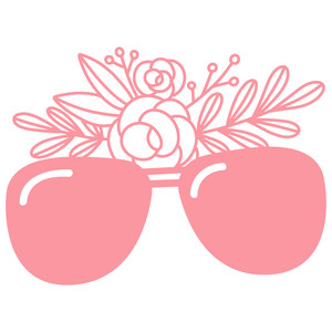sunglasses floral