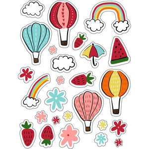 ml fun balloons and summer stickers