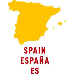 spain country outline