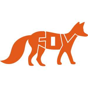 fox letters silhouette