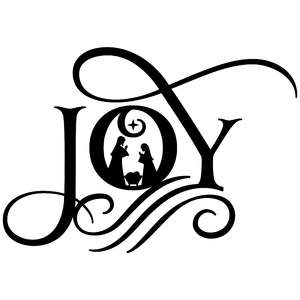 joy nativity flourish