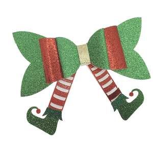 elf feet bow