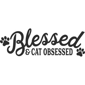 blessed and cat obsessed