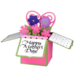 happy mother's day card in a box