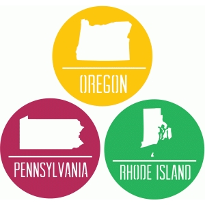 state badges - or pa ri