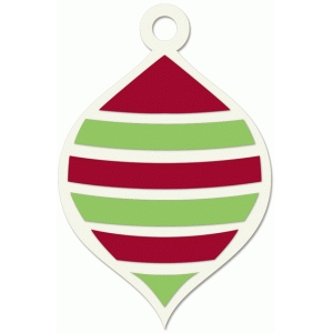 striped ornament
