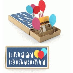 happy birthday pop up drawer card - Happy Birthday Pop Up Card