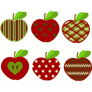 pattern apples