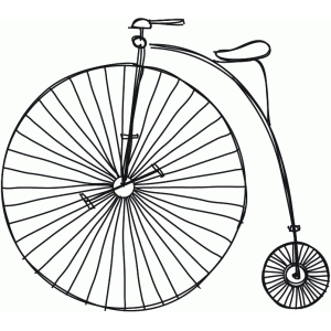 sketch bicycle