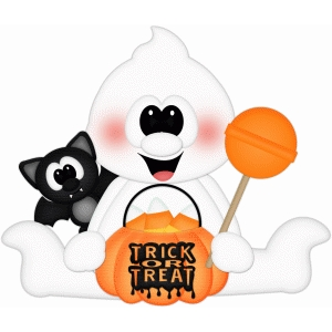 trick or treat ghost & bat pnc