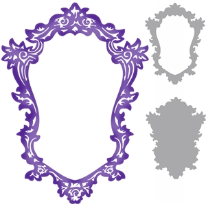 3 way ornate frame