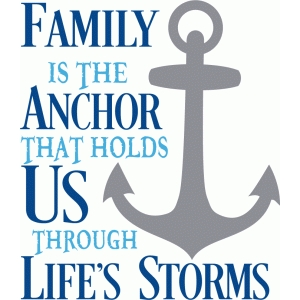 family is the anchor title